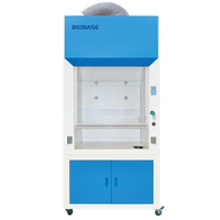 Full Steel Structure Lab Chemical Fume Hood For 1 Person Working Laboratory Furniture