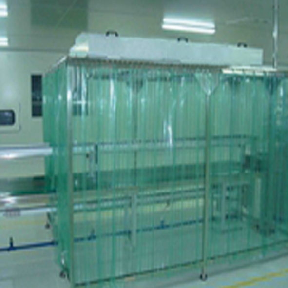 6.5ft. Clean Booth(Down Flow Booth) Cold-rolled Steel Panel Electrostatic Spraying